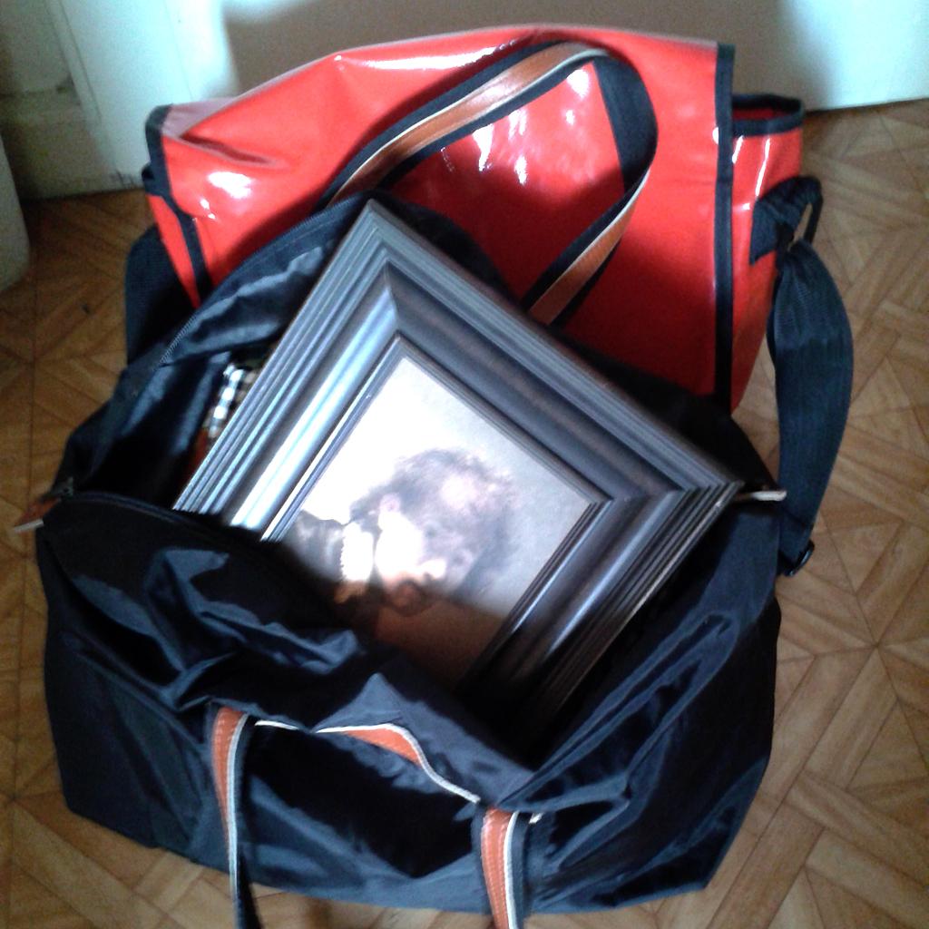 Kleines Reisegepäck
