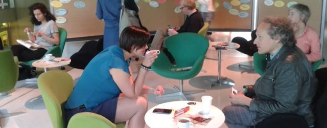 Theater und Netz, Bloggercafé